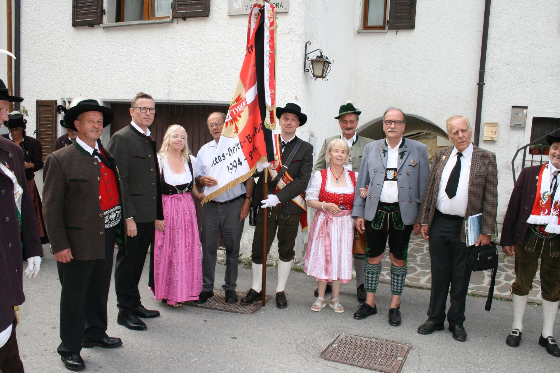 Andreas-Hofer-Bund feiert 100jähriges Bestehen