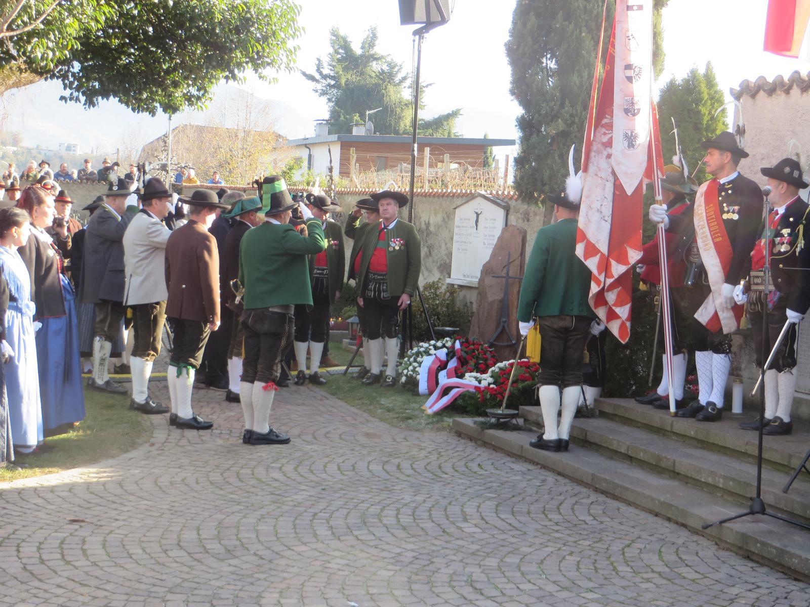 Sepp-Kerschbaumer-Gedenkfeier: Für Freiheit und Gerechtigkeit – auch für die Pusterer Buabm