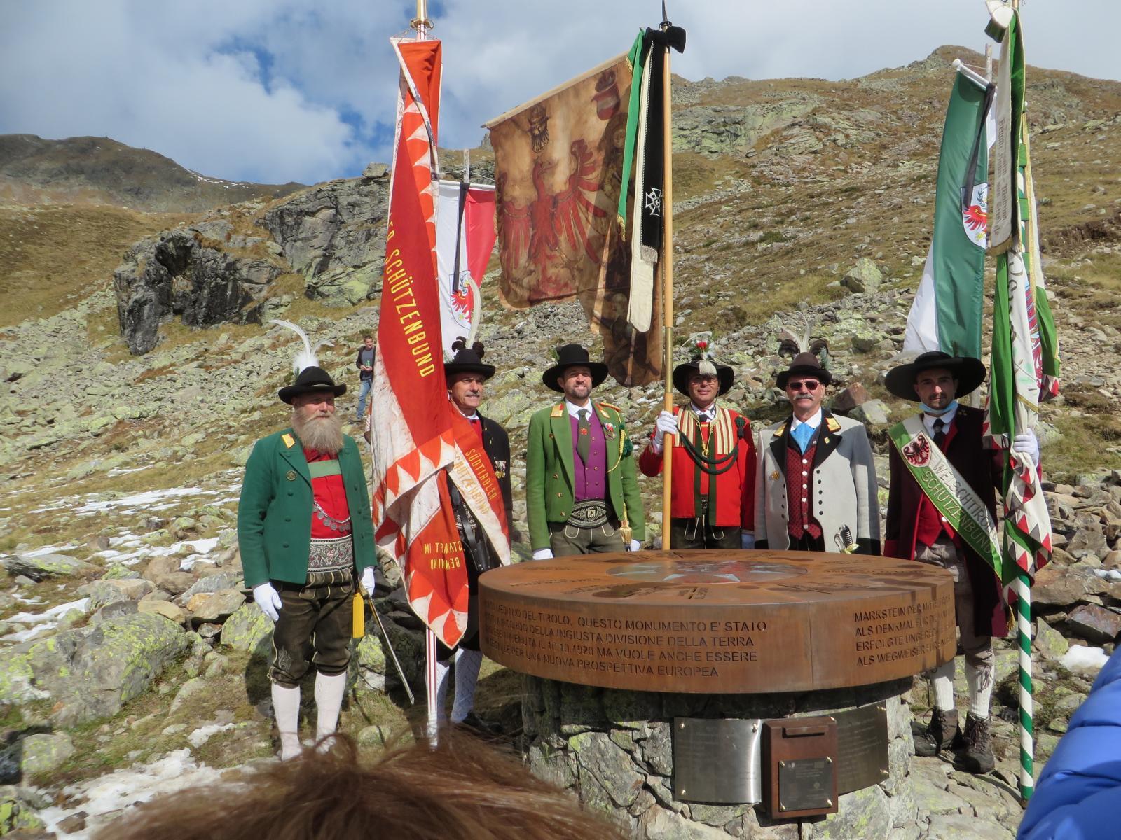 Markstein zur Mitte des historischen Tirols